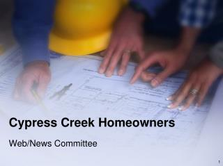 Cypress Creek Homeowners