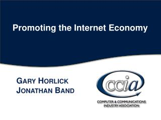 Promoting the Internet Economy