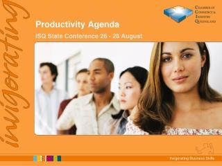 Productivity Agenda