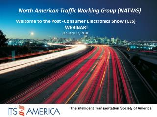 North American Traffic Working Group (NATWG)