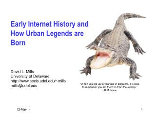 Early Internet History and How Urban Legends are Born