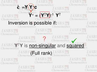 Y + = ( Y T Y ) -1   Y T