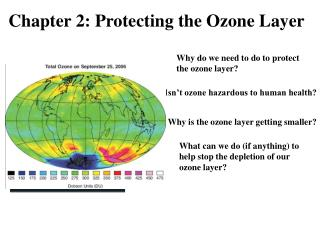 Chapter 2: Protecting the Ozone Layer