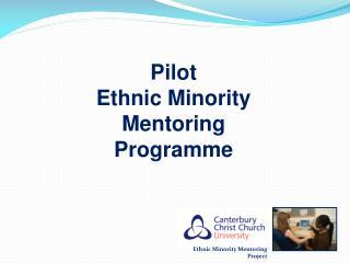 Pilot Ethnic Minority Mentoring Programme