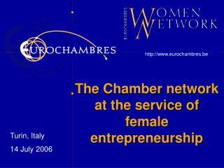 The Chamber network at the service of female entrepreneurship
