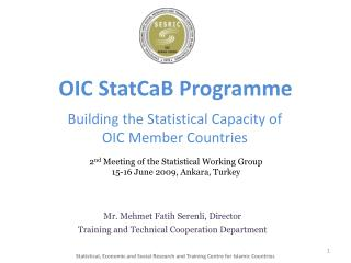 OIC  StatCaB  Programme