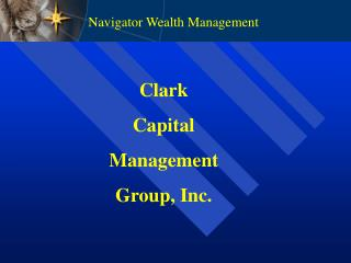 Clark Capital Management Group, Inc.