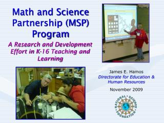 Math and Science Partnership (MSP) Program