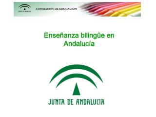 Enseñanza bilingüe en Andalucía