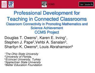 Douglas T. Owens 1 , Karen E. Irving 1 ,  Stephen J. Pape 2 , Vehbi A. Sanalan 3 ,