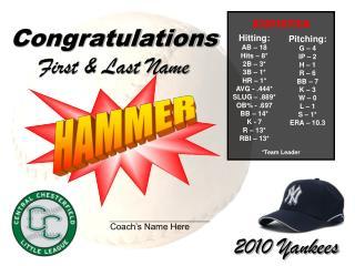 2010 Yankees