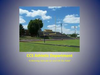 CCS Athletic Department