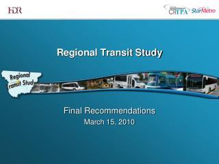 Regional Transit Study