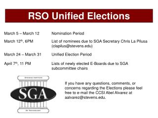 April 7 th , 11 PMLists of newly elected E-Boards due to SGA subcommittee chairs