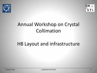 Annual Workshop on Crystal Collimation H8 Layout  and infrastructure