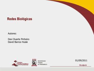 Redes Biológicas