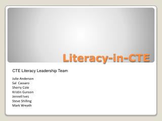 Literacy-in-CTE