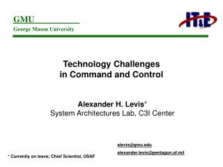 Technology Challenges  in Command and Control