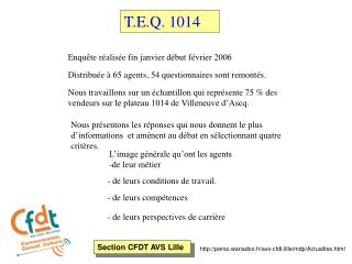 Section CFDT AVS Lille