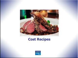 Cost Recipes