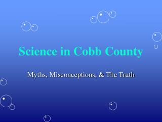 Science in Cobb County