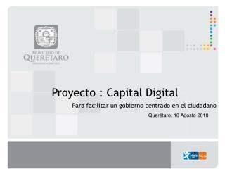 Proyecto :  Capital Digital