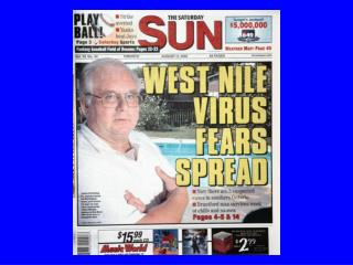 West Nile Virus – Ontario 2002