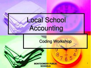 Local School Accounting