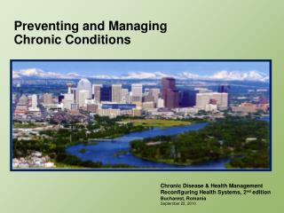 Preventing and Managing Chronic Conditions