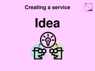 Creating a service