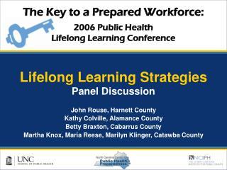 Lifelong Learning Strategies