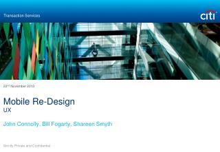 Mobile Re-Design UX