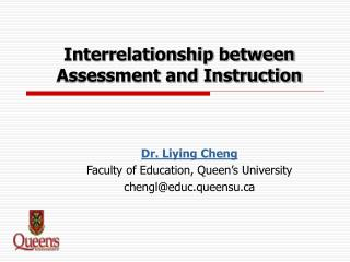 Interrelationship between Assessment and Instruction