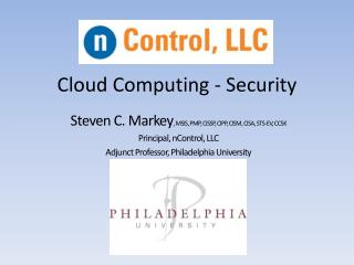 Cloud Computing - Security