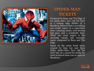 Spider-Man Broadway
