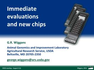 Immediate evaluations and new chips