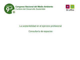 Congreso Nacional del Medio Ambiente Cumbre del Desarrollo Sostenible