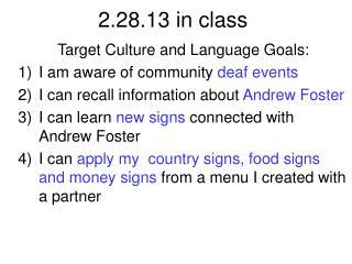 2.28.13 in class