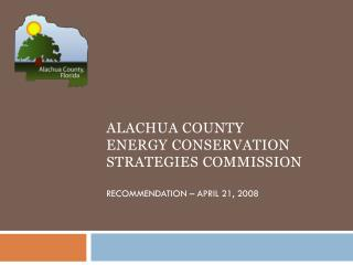 Alachua County Commission