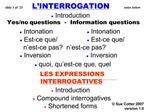 Slide 1 of  23    L INTERROGATION                   notes below                            Introduction  Yes