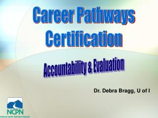 Career Pathways Certification