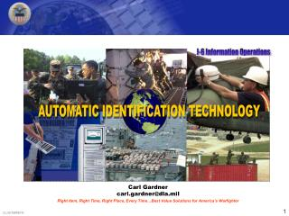 Right Item, Right Time, Right Place, Every Time Best Value Solutions for America s Warfighter