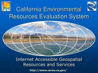 California Environmental Resources Evaluation System