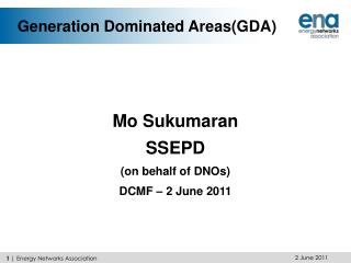 Generation Dominated Areas(GDA)