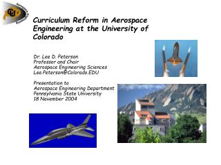 Curriculum Reform in Aerospace Engineering at the University of Colorado