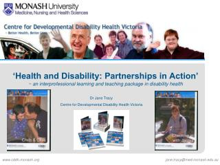 'Health and Disability: Partnerships in Action'