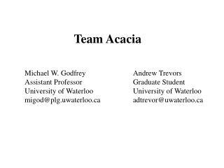 Team Acacia