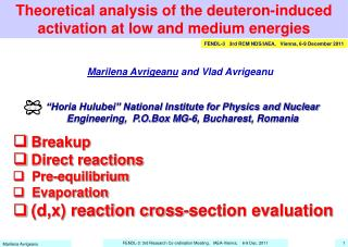 Theoretical analysis of the deuteron-induced activation at low and medium energies