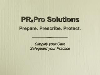 PR x Pro Solutions