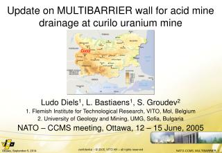 Update on MULTIBARRIER wall for acid mine drainage at curilo uranium mine